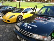 Super car, banger rally, charity rally, road trip