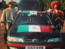 mexicans, wacky rally, barmy to barcelona, banger rally, charity rally, road trip, wacky rally