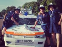 nurses, wacky rally, barmy to barcelona, banger rally, charity rally, road trip, wacky rally