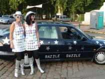 dazzle, banger rally, charity rally, road trip