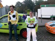Toy Story, banger rally, charity rally, road trip