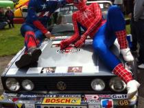 Super Hero, banger rally, charity rally, road trip