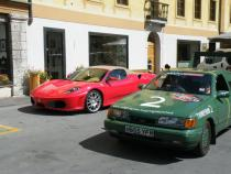 super cars, banger rally, charity rally, road trip