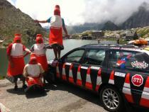 wackyrally barmytobarcelona, banger rally, charity rally, road trip