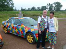jester barmy to barcelona, banger rally, charity rally, road trip, wacky rally