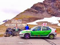 mountain pass, banger rally, charity rally, road trip, wacky rally