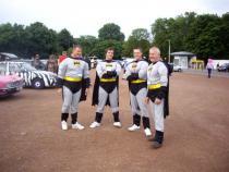 batman, banger rally, charity rally, road trip