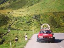 hovercraft, banger rally, charity rally, road trip