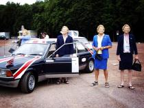 maggie thatcher, margaret thatcher, banger rally, charity rally, road trip