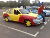 noddy, banger rally, charity rally, road trip