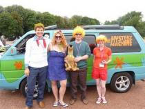 scooby doo, banger rally, charity rally, road trip