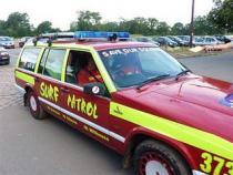 surf patrol, banger rally, charity rally, road trip